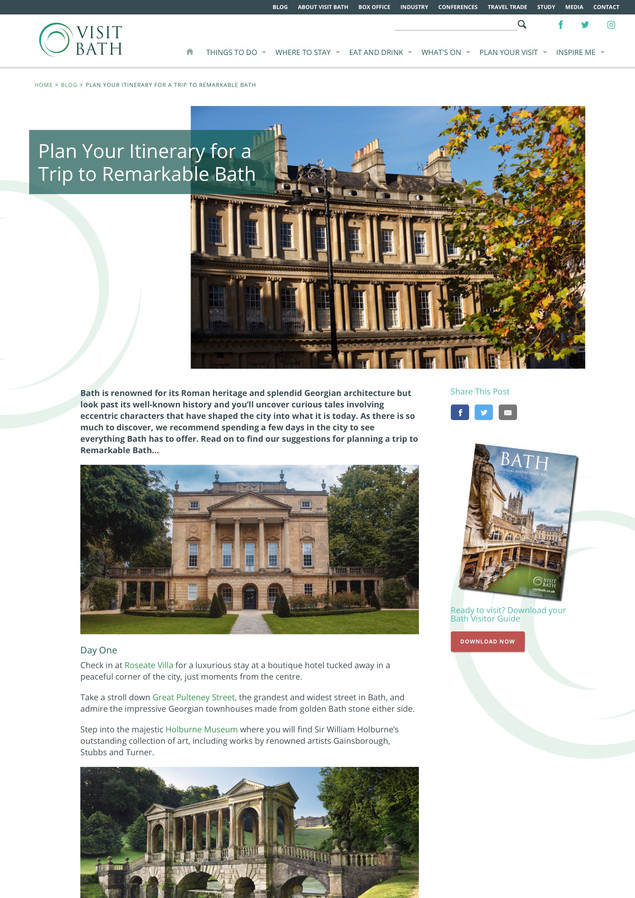 Ways to Explore Remarkable Bath