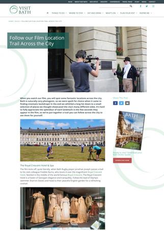 Follow our Film Location Trail in Bath
