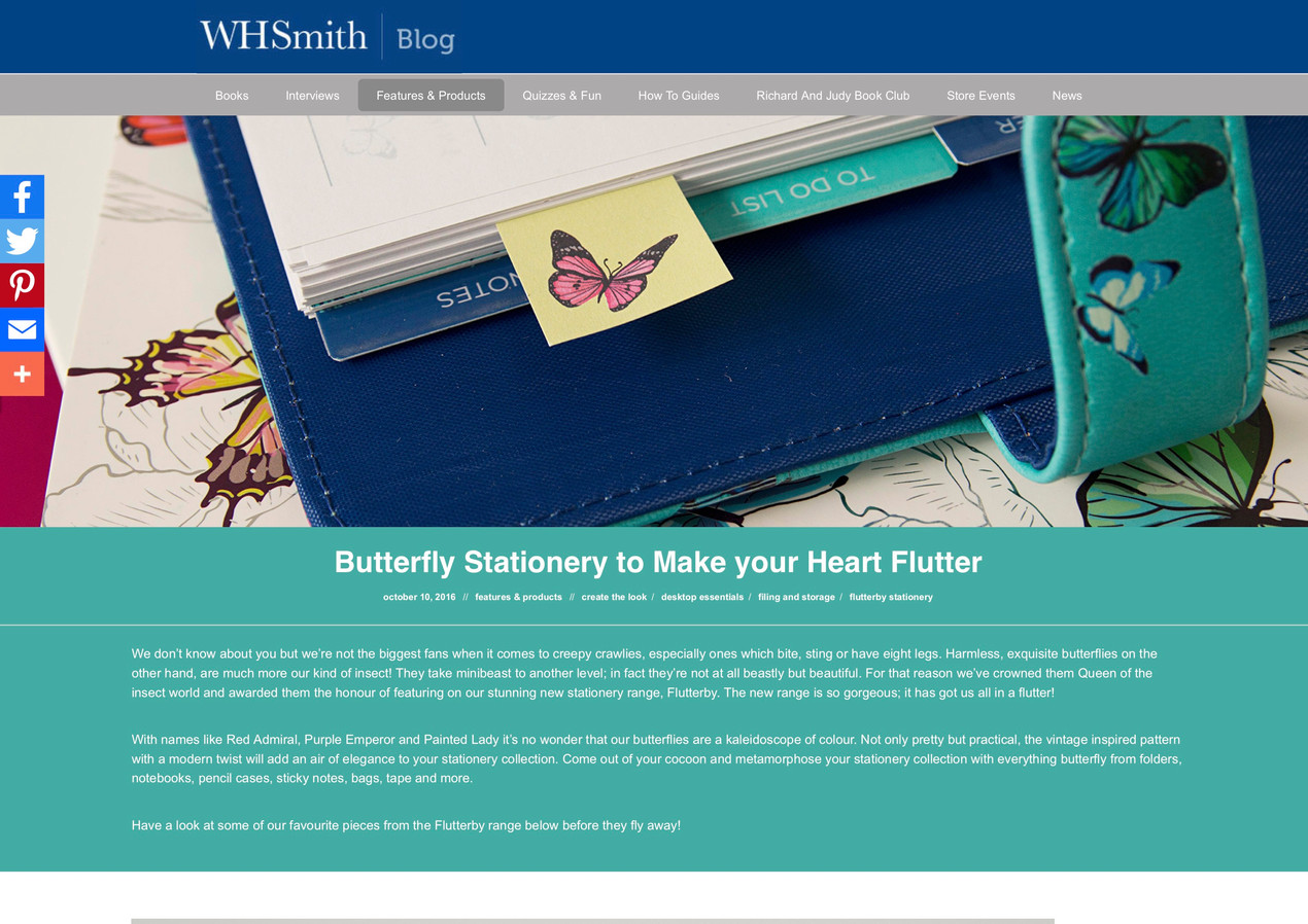 Butterfly Stationery to Make your Heart Flutter