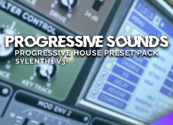 Progressive Sounds for Sylenth1