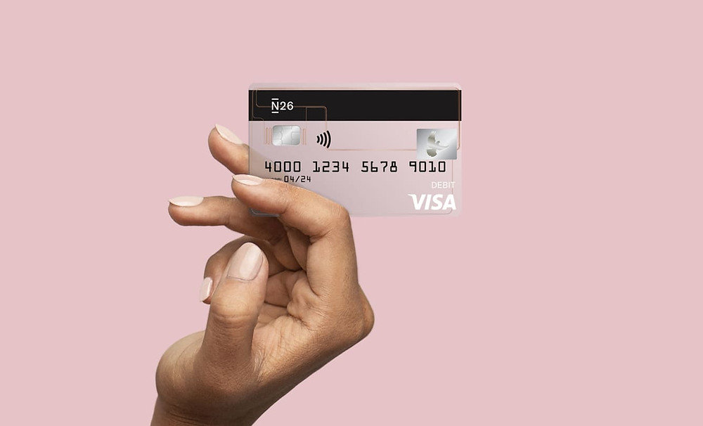 N26 Visa Credit Card for USA launch