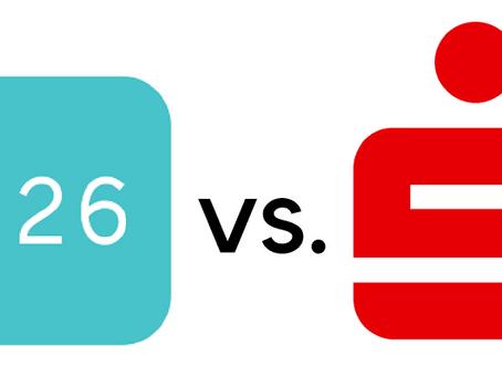 N26 vs. Sparkasse - Was ist besser?