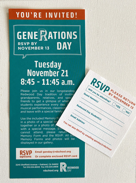 Invite & RSVP Card Design