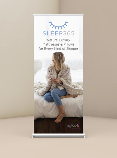 Sleep365 Trade Show Signage