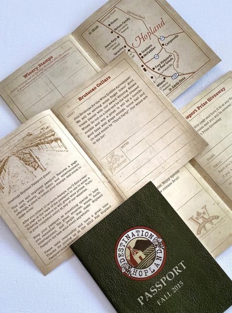 Logo & Event Passport Booklet Design