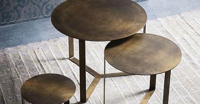 kovové konferenční stolky TRIS