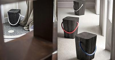 dřevěná stolička HUG