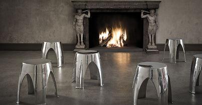kovová stolička IGLOO