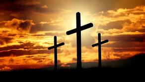 Junge Frau wendet sich zu Jesus