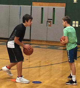 Basketball fundamentals.