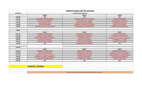 Varsity Tournamnet Bracket 2020 - Sheet1