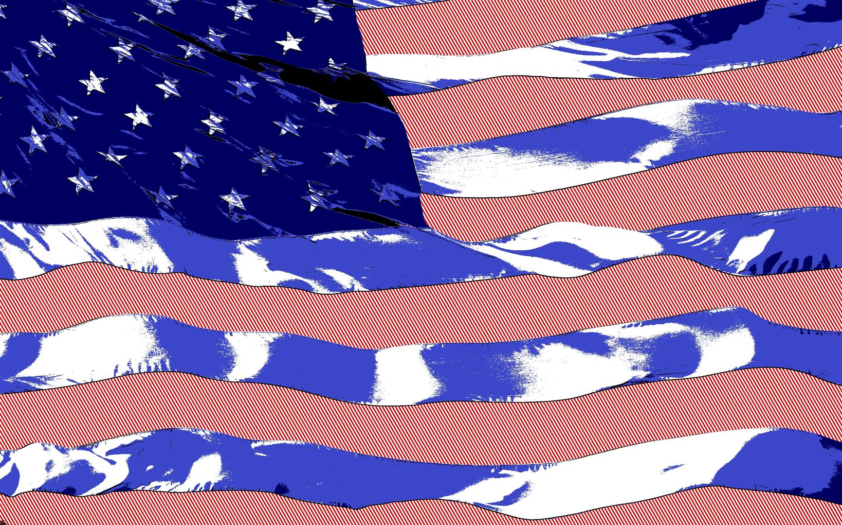 US Flag Blowing in the Wind Lichenstein ver 7 (Large).jpg