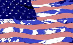 US Flag Blowing in the Wind Lichenstein ver 7 (Large).jpg