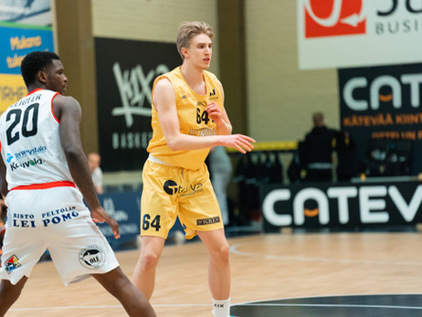 Tasapisteissä Näätien kanssa oleva Lahti Basketball tuo intensiivisyytensä Nokialle