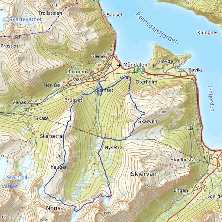 Moon Valley 7 Lakes Run 2021