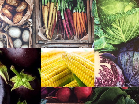 Rainbow Foods for the Chakras