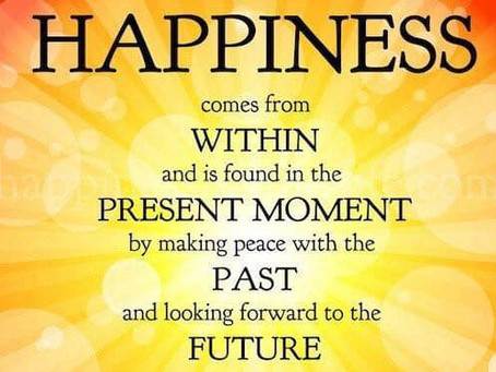 Happiness begins Within!