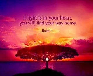 LOOK INSIDE YOUR HEART.