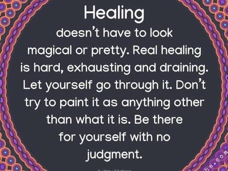Real Healing is Hard.