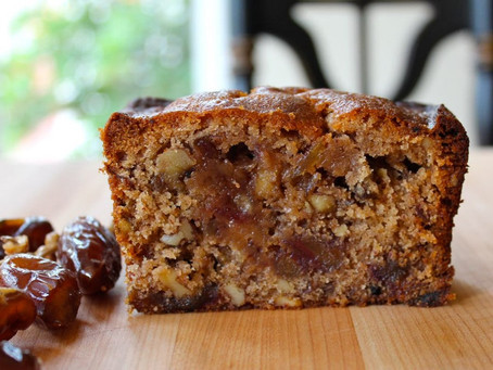 Date, Mango and Macadamia Loaf