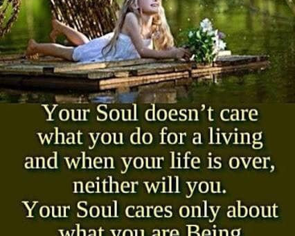 Your Soul Cares About You.