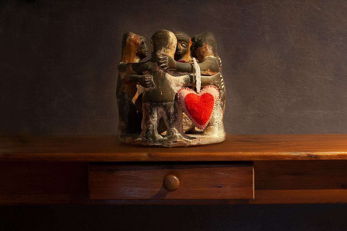 4-5 verbinding hart onder de riem liefde
