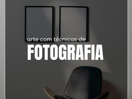 Arte com técnicas de fotografia