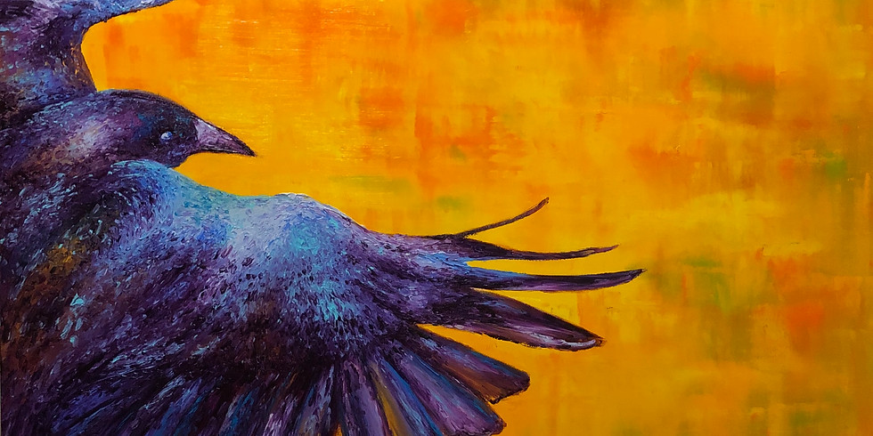 Advanced Finger Painting: From Concept to Canvas w/ Kimberly Adams - In-Person: Intermediate
