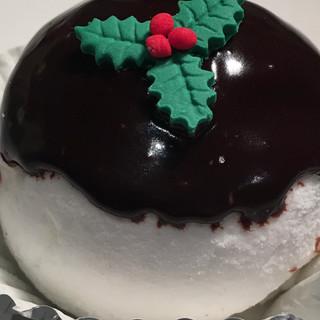 Christmas Marshmallow Pudding