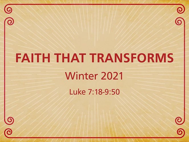 Faith That Transforms Series ART LETTERB