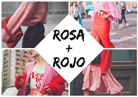 Rosa + Rojo: la regla de romper las reglas