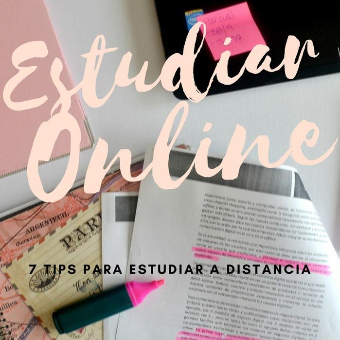 7 consejos para estudiar online
