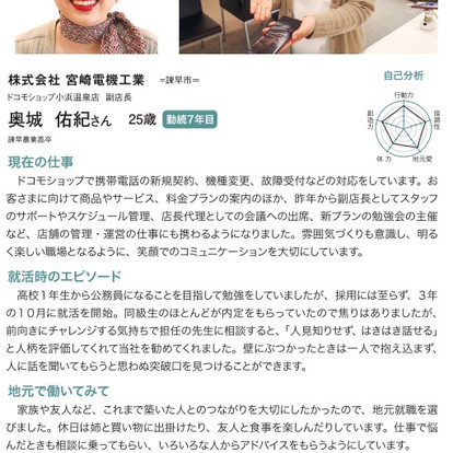 【新聞掲載】長崎新聞NR10月号に掲載されました