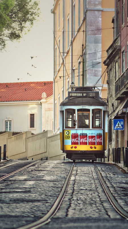 Uphill With The Tram