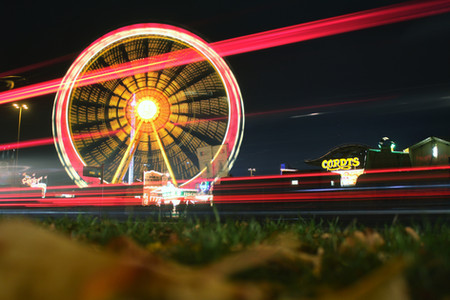 Ferris Wheel Long Exposure