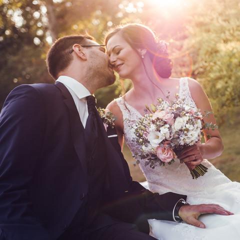 Vintage esküvő fénykép