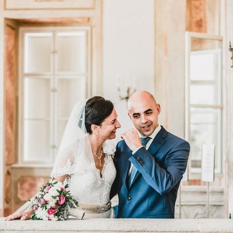 Különleges barokk kastély esküvő fotó