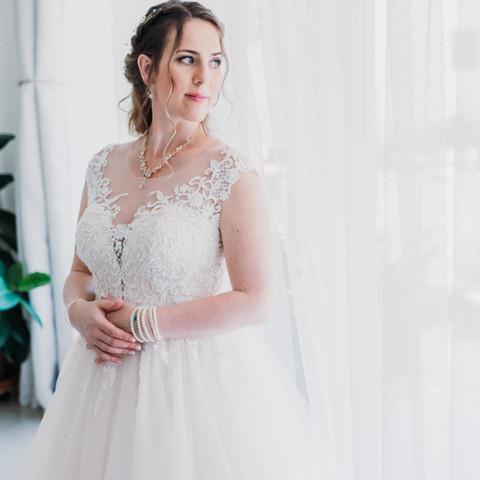 Elegáns menyasszony