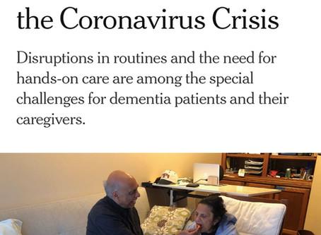 Dementia Meets the Coronavirus