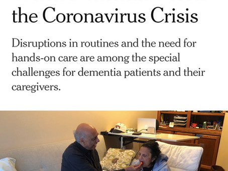 Dementia Meets the Coronavirus
