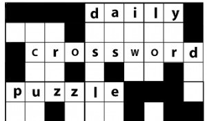 Benefits of a Daily Crossword Puzzle