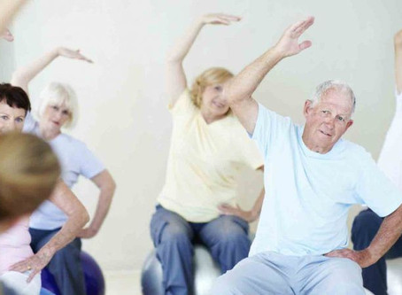 Seniors Staying Active During Social Distancing