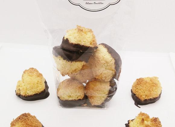 Rochers noix de coco et chocolat