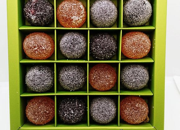 boîte de 16 Pâtes de Fruits
