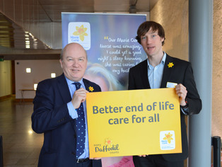 Gordon MacDonald MSP Shows Support for Terminal Illness Charity