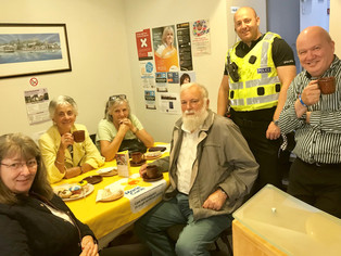 Community Gathers for a Blooming Great Tea Party