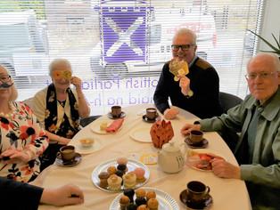 Gordon Hosts Marie Curie Tea Party