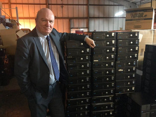 Scottish Government Takes Up Proposal By Gordon Macdonald MSP To Sent Old Computers To Africa