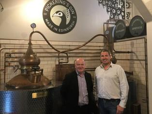 MSP Raises a Glass to Scottish Gin