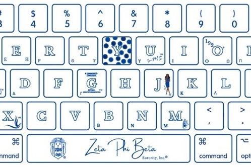 Zeta Silicone Keyboard Cover